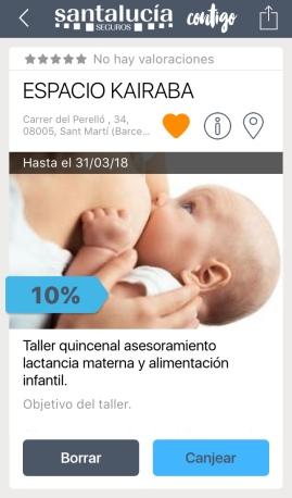 10% Taller quincenal asesoramiento lactancia materna y alimentación infantil